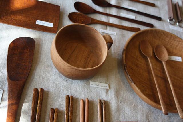 木の生活道具(志村マコト)